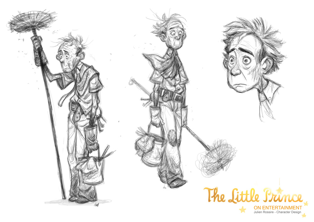 The Character Design : The little prince character designer julienrossire