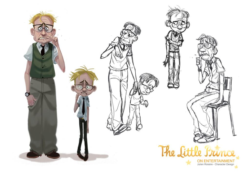 Cartoon Character Design For Tarpaulin : The little prince character designer julienrossire