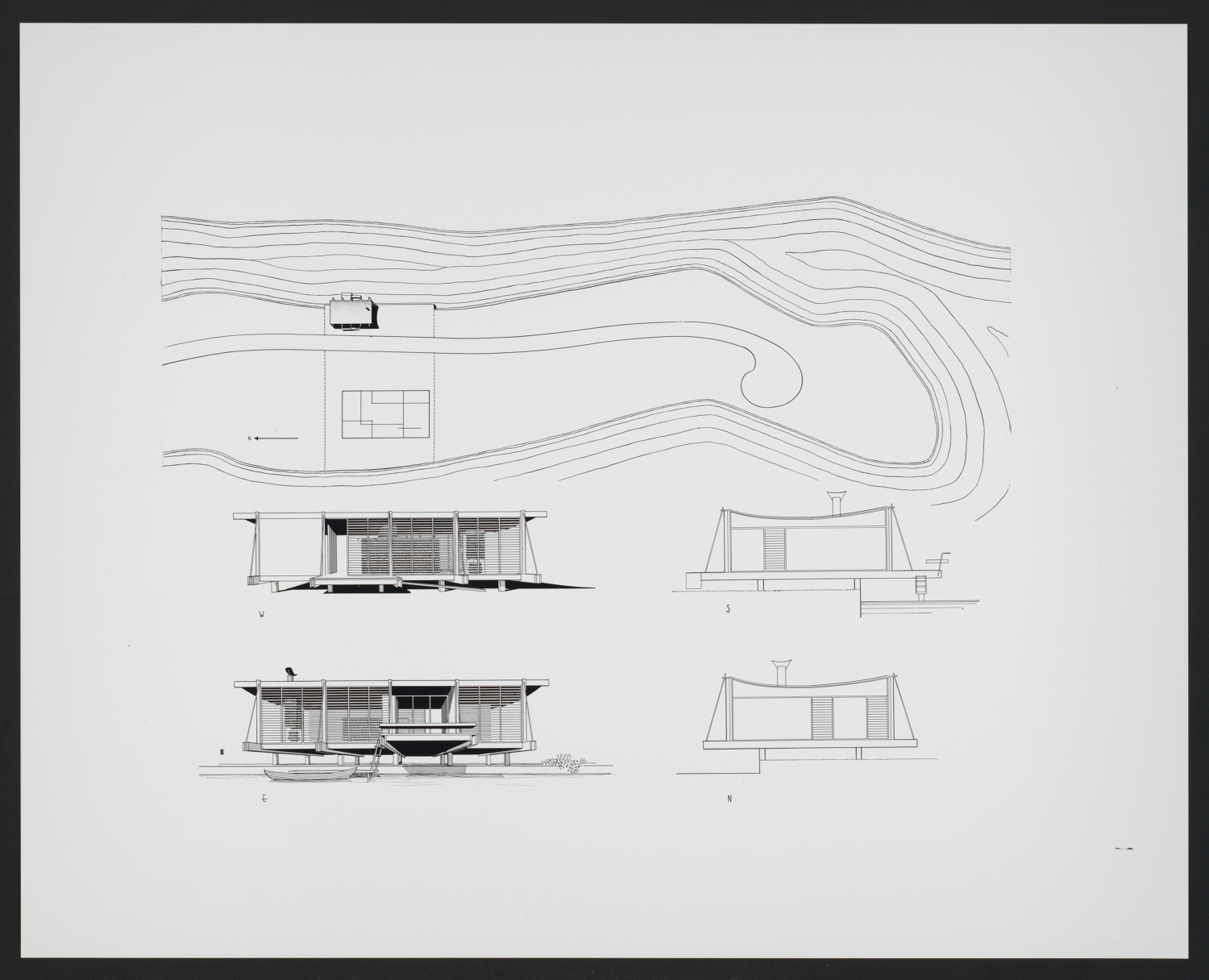 Renderings, Paul Rudolph - ATLAS OF PLACES