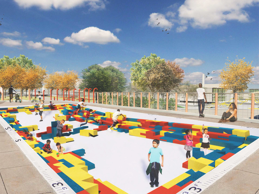 Infill Philadelphia Playspace Design Competition Ramla