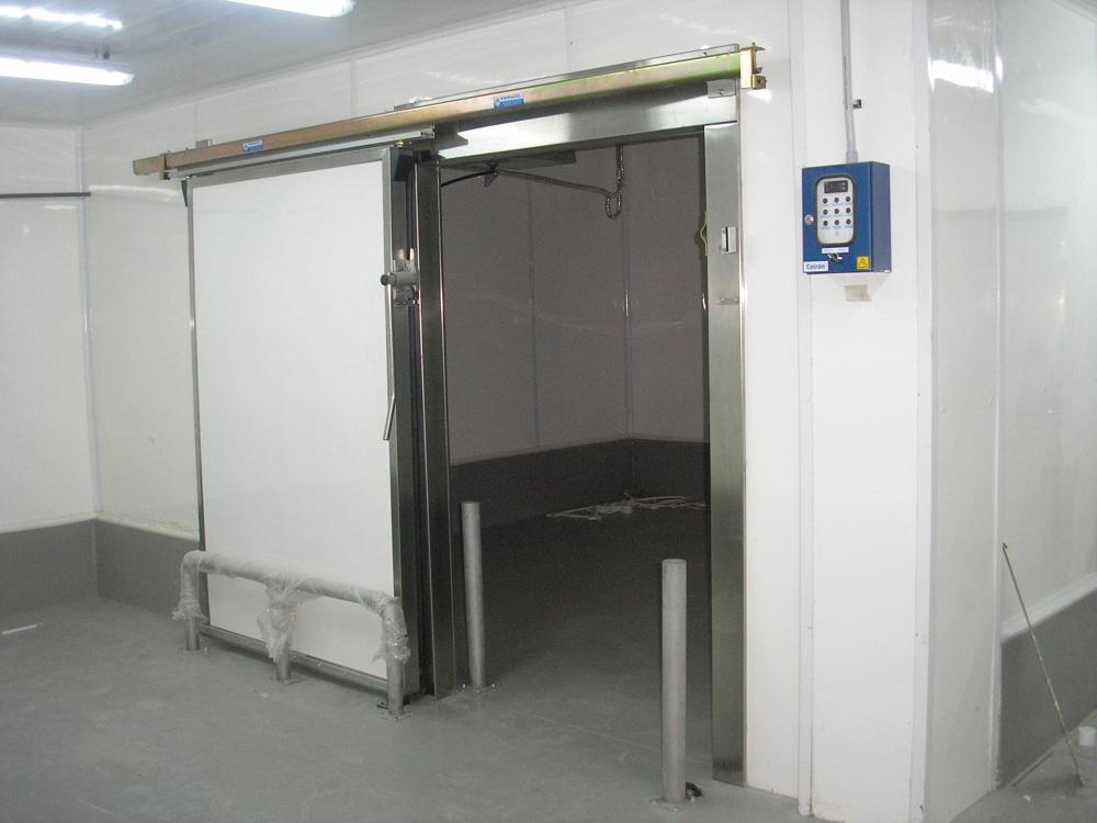 Puertas corredizas - Camaras frigorificas